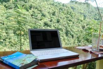 Joshua Berman, Travel Writer, in Belize