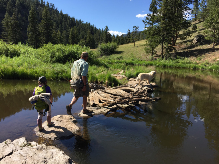 The denver post joshua berman for Colorado springs fishing