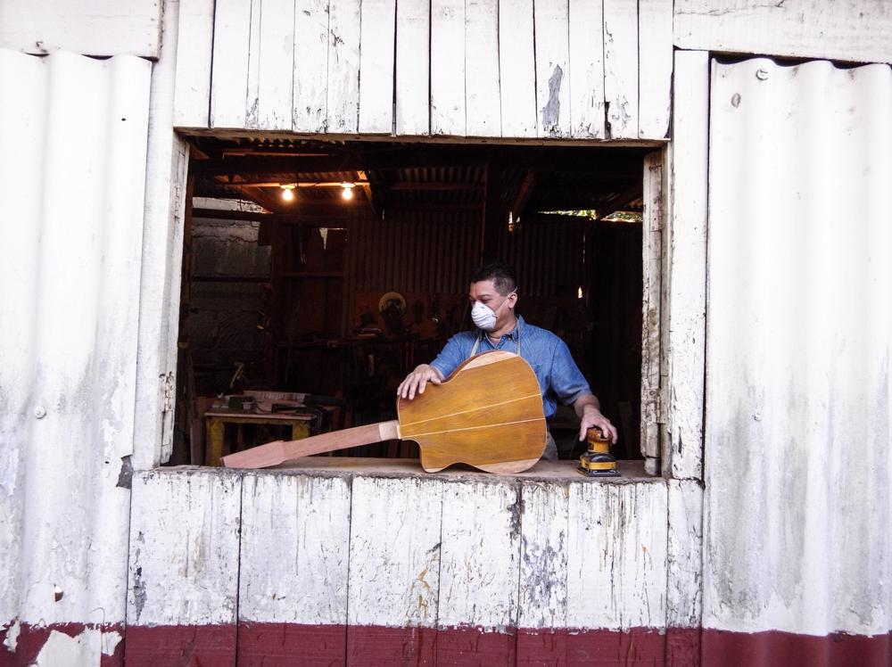 Guitar workshop, Masaya.
