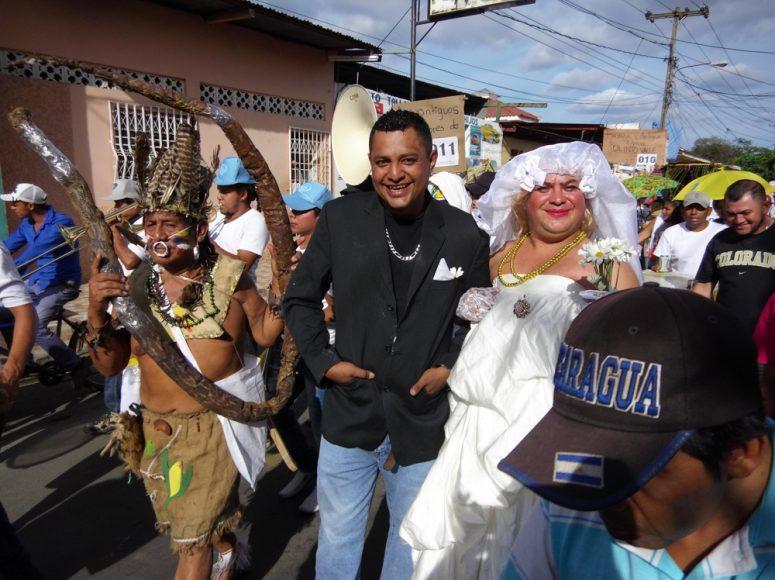Nicaragua is full of surprises. Festival in Masaya.