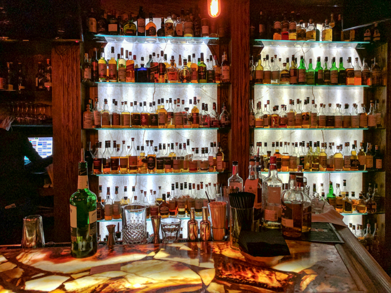 """The Stanley's whiskey collection has more than 1,200 """"expressions"""" from which to choose but I've never seen it up close. Until tonight."""