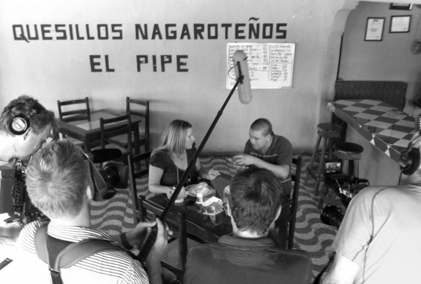Chef Hazel Cuadra stops by Quesillos El Pipe on Carretera Masaya