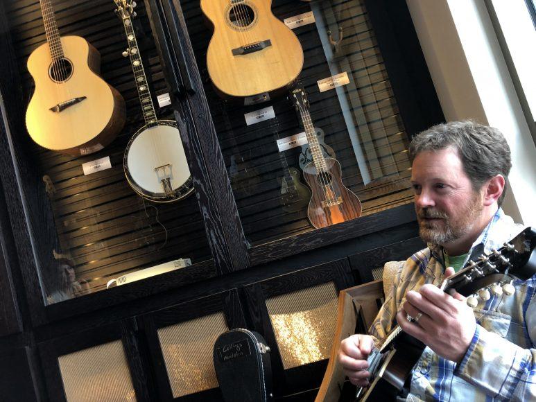 My friend, Jeff Christiansen, a local neuroscientist and fiddle player.