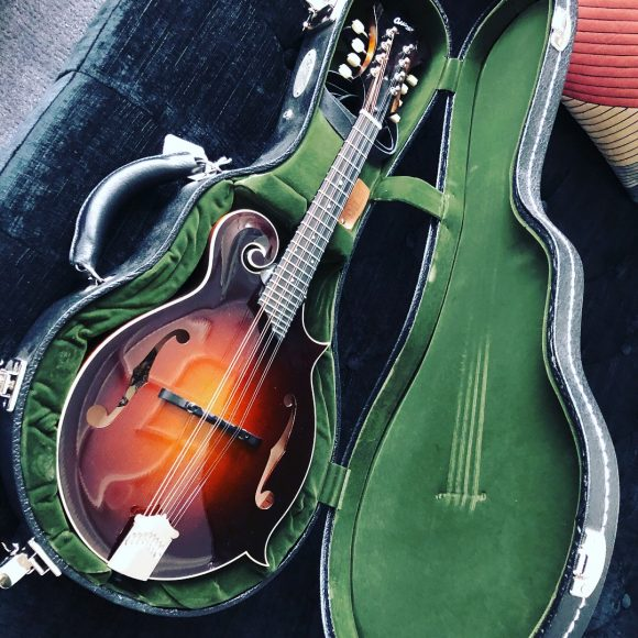 Jeff took down a top-of-the-line, $5,500 Collings MF-GT F-style mandolin.