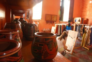 "Kamañ: This airy shop at the east end of the block is adjacent to the Sandinista Museum of Heroes and Martyrs. Kamañ (the word means ""crafts"" in Nahuatl offers a remarkable display of Nicaraguan ceramics and more."