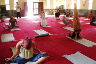 Yoga Niketan in Rishikesh, India