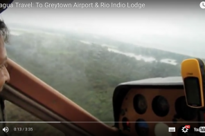 Remote Nicaragua: First flight to Greytown Airport & Rio Indio Lodge