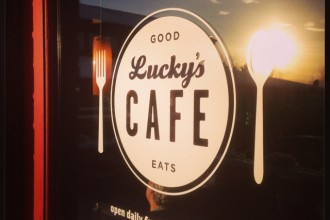 Sunrise in a Spoon: Lucky's Cafe in north Boulder
