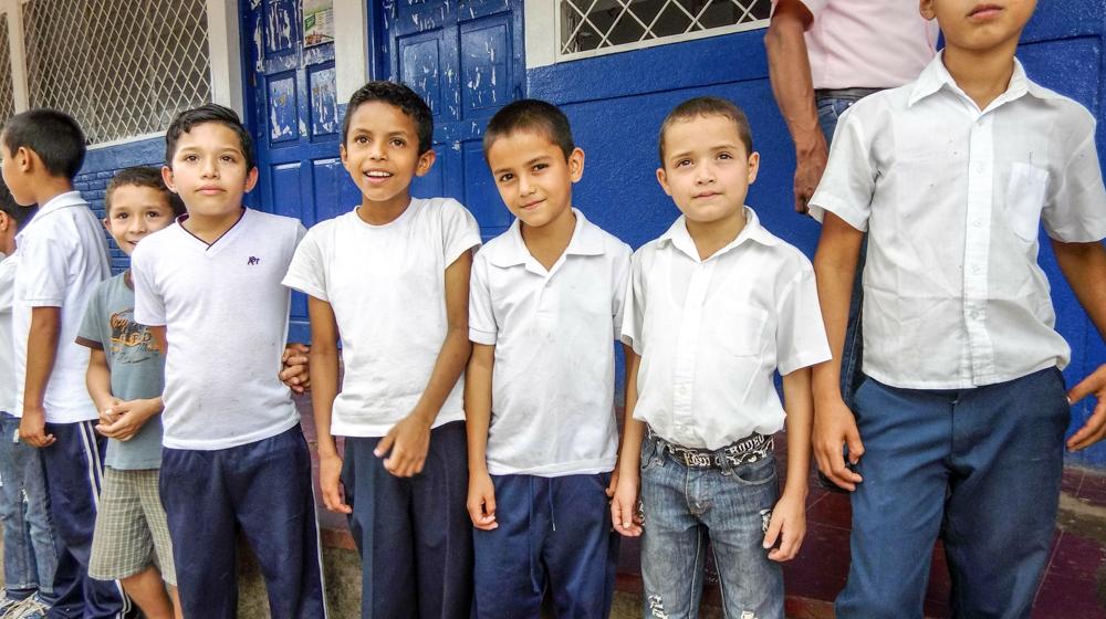 K-12 rural school that benefits families of coffee farmers.