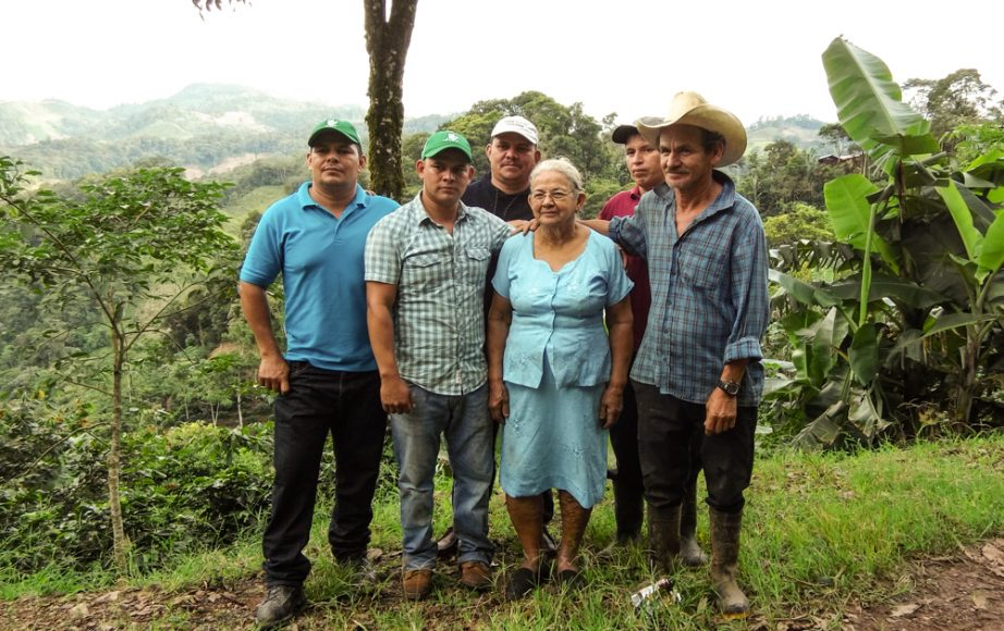 Oliver Vasquez and his 8 brothers all work in the coffee business, north of Jinotega.