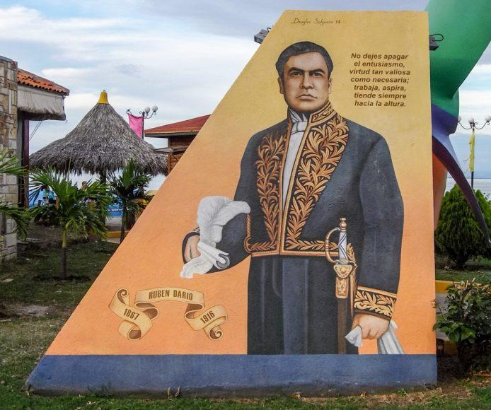 Rubén Darío. Puerto Salvador Allende, Managua.