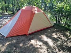 PHOTO by Ben Getchell; Chimney Creek tent with rain fly