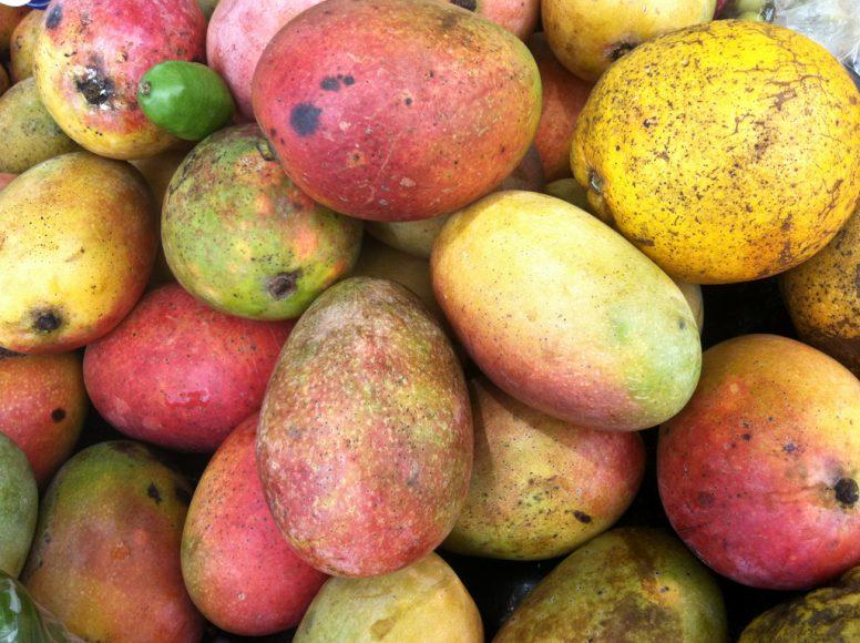Street mangos.