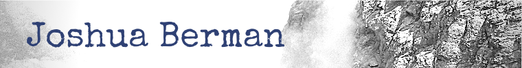 Joshua Berman Homepage - Writer, Teacher, Social Media Director
